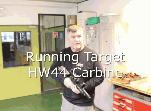 Running Target with HW44 carbine